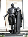 George Washington Statue. Erected outside The National Gallery in London's, Trafalgar Square, presented by 'The Commonwealth Of Virginia' in 1921, this is a Stock Photos