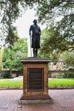George Washington Statue i Washington Park, charleston, SC Royaltyfri Bild