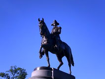 George Washington Statue, jardim de Boston Public, Boston, Massachusetts, EUA Foto de Stock