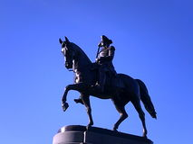 George Washington Statue, jardim de Boston Public, Boston, Massachusetts, EUA Fotografia de Stock