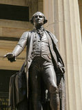 George Washington Statue in New York City Royalty Free Stock Images