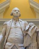 George Washington statue. In the rotunda of the Virginia State Capitol in Richmond, Virginia stock photo