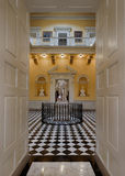 George Washington statue. In the rotunda of the Virginia State Capitol in Richmond, Virginia royalty free stock photos