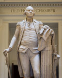 George Washington statue. In the rotunda of the Virginia State Capitol in Richmond, Virginia royalty free stock photo