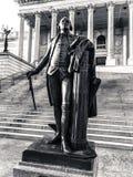 George Washington Statue, State Capital of South Carolina in Columbia.  stock photo