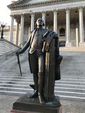 George Washington Statue, State Capital of South Carolina in Columbia.  stock photography