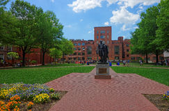 George Washington statue in the University of George Washington Stock Photography