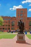 George Washington staty i George Washington University Royaltyfri Bild