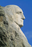 George Washington, supporto Rushmore Immagini Stock