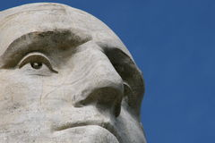 George Washington sur le support Rushmore Photos libres de droits