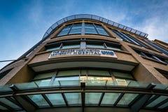 George Washington University Hospital, i Washington, DC Arkivfoto