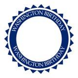 George Washington urodziny ilustracji