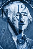 George Washington from US one dollar Stock Image