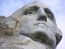 George Washington vänder mot på Mount Rushmore, South Dakota, USA royaltyfri bild