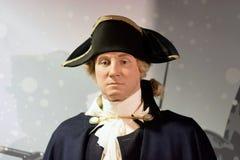 George Washington Wax Figure Fotografering för Bildbyråer