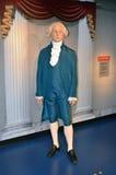 George Washington wax statue. At Madame Tussauds San Francisco Royalty Free Stock Image
