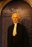 George Washington wosku postać obrazy stock
