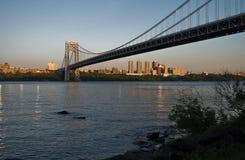 George- Washingtonbrücke Stockfoto