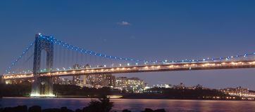 George- Washingtonbrücke Lizenzfreies Stockfoto