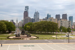 George- Washingtondenkmal Philadelphia Stockbild