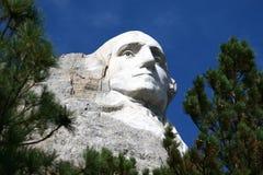 George Washingtonschnitzen lizenzfreies stockbild