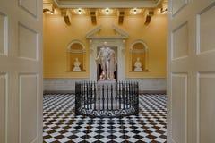 George- Washingtonstatue Stockbilder