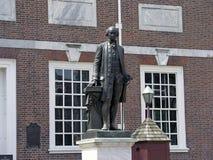 George Waszyngtońska Niezależności Hall statua fotografia royalty free