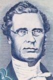 George William Gordon-Porträt stockfotos