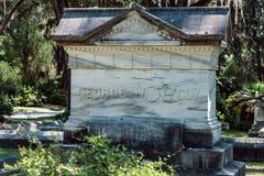 George Wylly Cemetery Statuary Statue Bonaventure Cemetery Savannah Georgia fotografía de archivo libre de regalías
