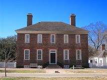 George Wythe House Royalty Free Stock Photography