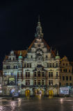 Georgentor at night, Dresden, Germany Stock Photos