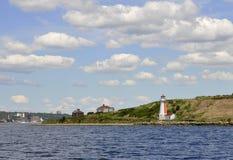Georges ö, fyr Fotografering för Bildbyråer