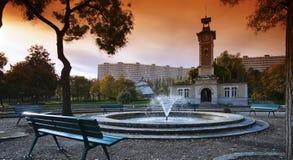 Georges Brassens  garden in Paris Royalty Free Stock Photos
