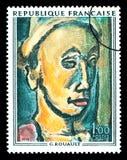 Georges Henri Rouault Postage Stamp Fotografia Stock