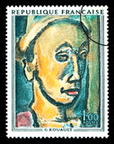 Georges Henri Rouault Postage Stamp Stock Photo