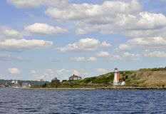 Georges Island, lighthouse Stock Image
