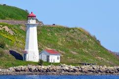 Georges Island Lighthouse Royaltyfria Bilder