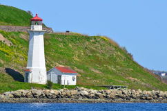 Georges Island Lighthouse Stock Foto