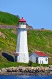 Georges Island Lighthouse Stock Afbeeldingen