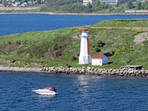 Georges Island Lighthouse Stock Photography