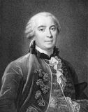 Georges-Louis Leclerc, Comte de Buffon Stock Image