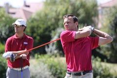 Georges Plumet am Golf Prevens Trpohee 2009 Lizenzfreies Stockfoto