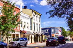 Georgetown  architecture houses Royalty Free Stock Photo