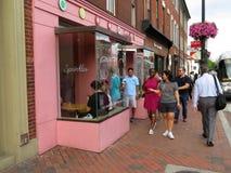 Georgetown bageri i sommar Royaltyfri Bild