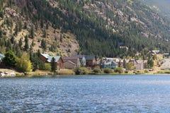 """Georgetown Colorado Ð"""" акÐ?-Häuser Lizenzfreie Stockfotografie"""