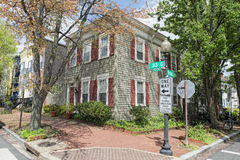 Georgetown dc washington houses Royalty Free Stock Photography