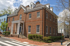 Georgetown dc washington houses Stock Photo