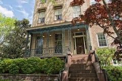 Georgetown dc washington houses Royalty Free Stock Photo
