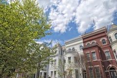 Georgetown dc washington houses Stock Photos