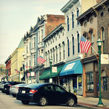 Georgetown del centro storica, Kentucky Immagine Stock